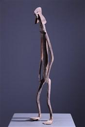 Statue en fer noir Mumuye Iagalagana