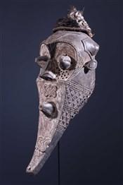 Masque funéraire Inhuba Kabongo Kuba