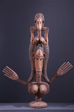 Marionnette articulée Janus Maaniw Bozo