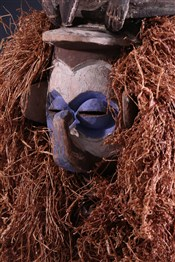 Masque africainMasque Yaka Kholuka