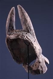 Masque africainCimier buffle Mumuye