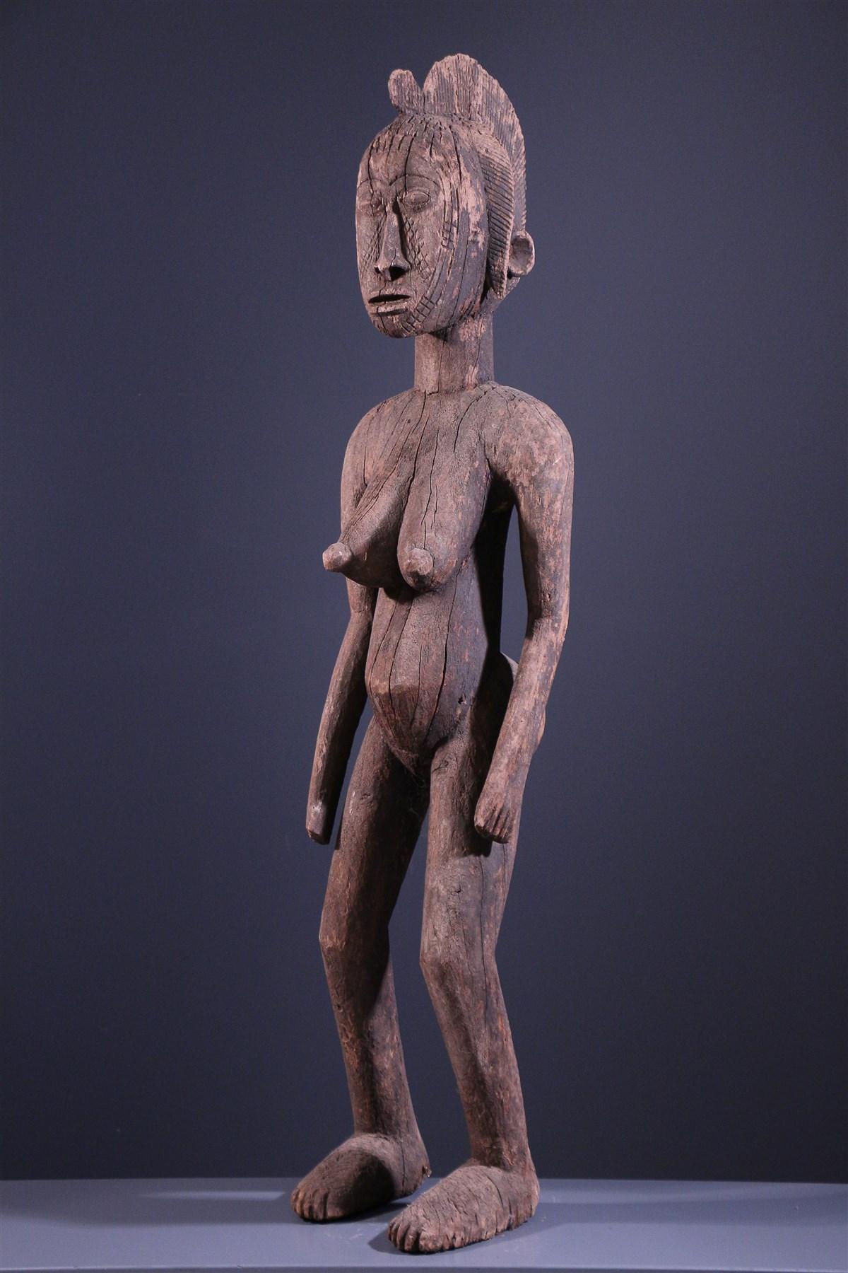 Statue Mossi Nakomse - Art africain