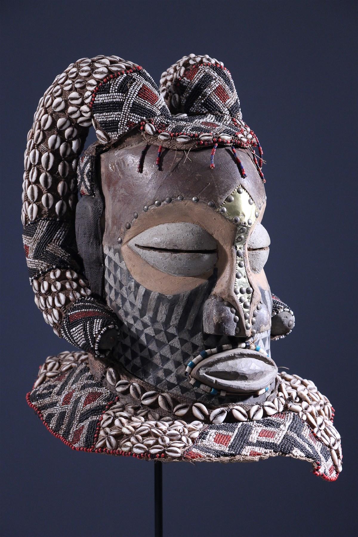 Masque Bwoom Kuba - art africain