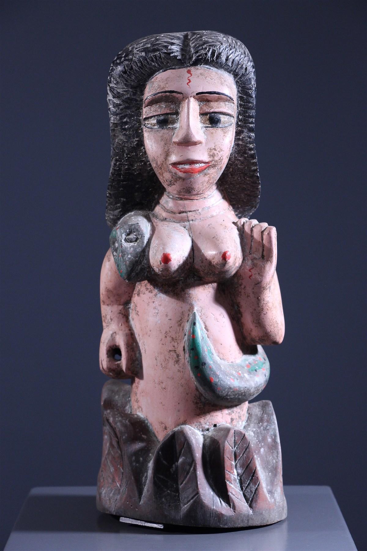 Statue Mami Wata Ewe - Art africain