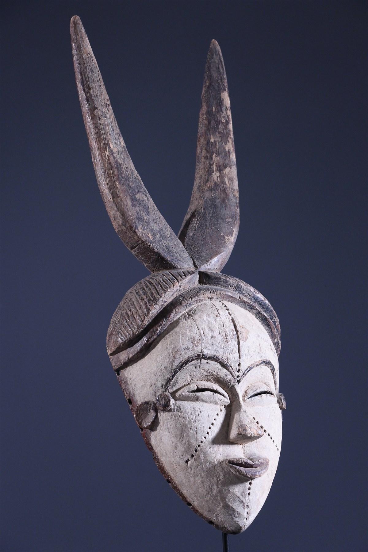 Masque Pibibuze Kwele - art primitif