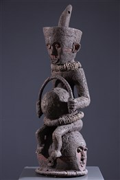 Masque anthropomorphe Ndengese