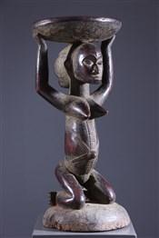 Art africain - Tabourets - Tabouret cariatidique Luba