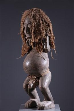 Statue masculine Ibibio