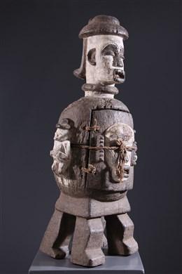 Reliquaire anthropomorphe Urhobo - Art africain