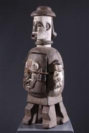 Pots, à divination, oracles, remèdes, onguentsReliquaire anthropomorphe Urhobo