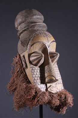 Art africain - Masque Kuba Pwoom Itok