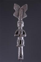 Bâton de commandementBâton Oshe Shango Yoruba