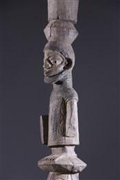 PoteauxStatue poteau Yoruba Opo