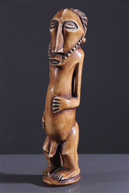Statuette Bembe/ Bassikassingo en ivoire