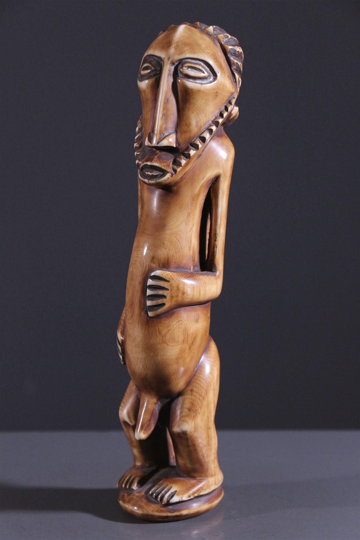 Statuette Bembe en ivoire - Art africain