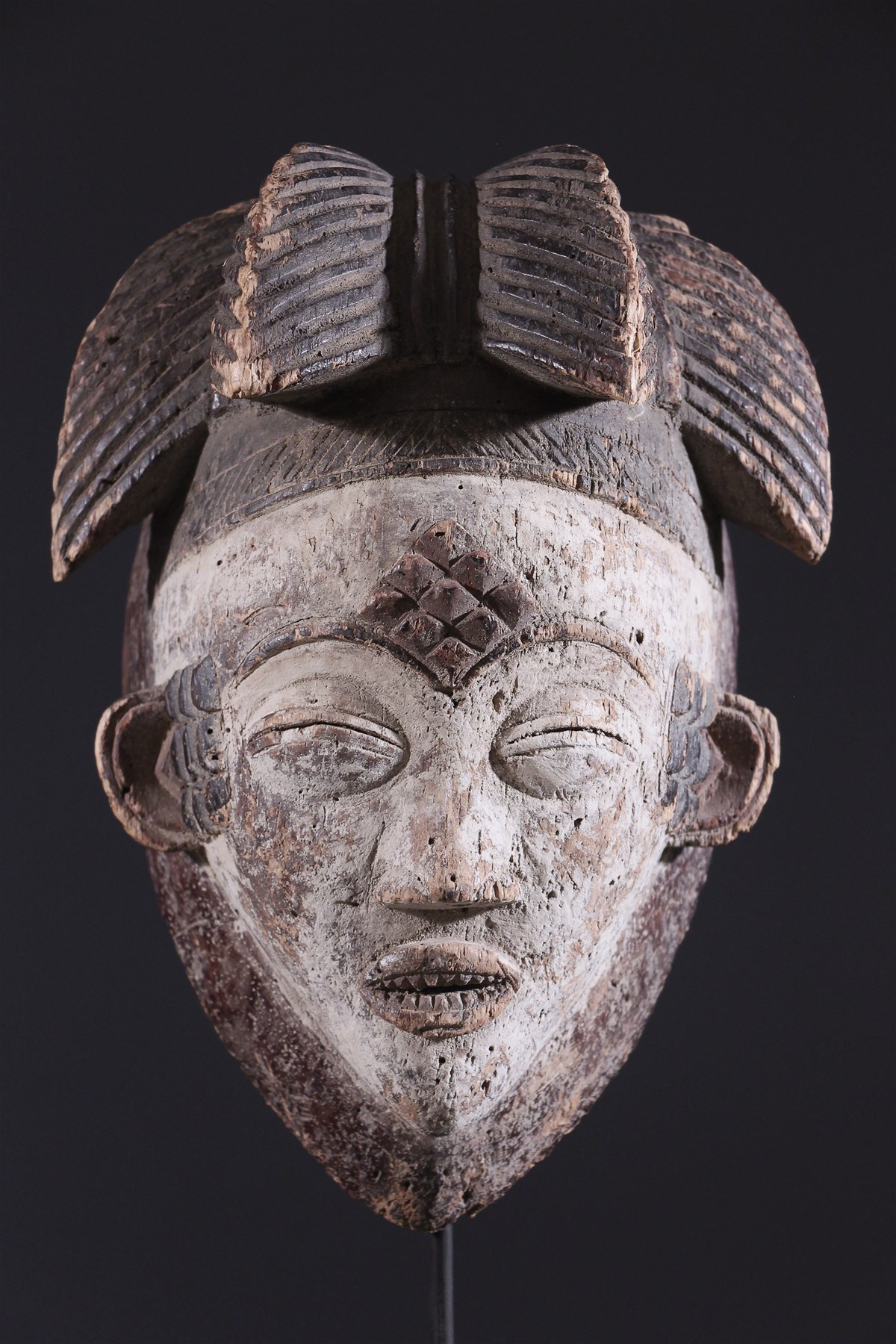 masque africain malefique