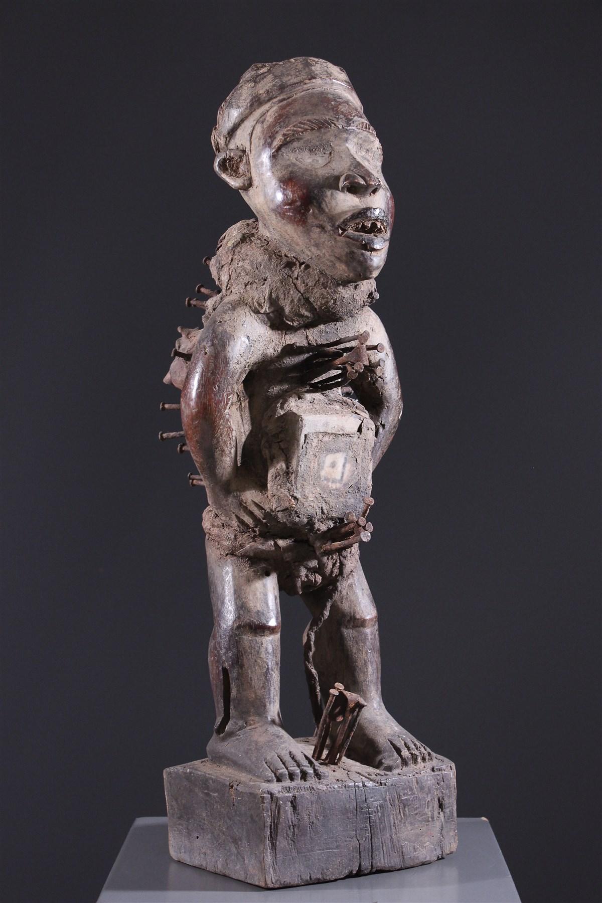 Fétiche Kongo Nkisi - art primitif