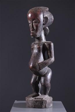 Art africain - Grande statue Luba