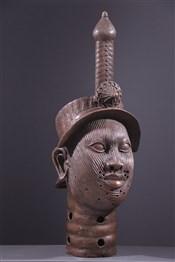 Art africain - Tête - Grande tête Oni Ife