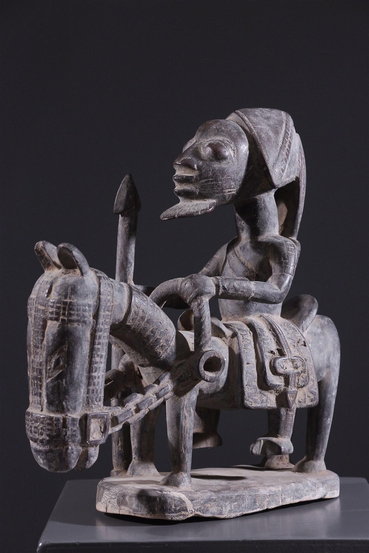 Cavalier Yoruba Elesin Sango - Art africain