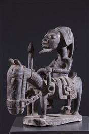 Art africain - Cavalier - Cavalier Yoruba Elesin Sango
