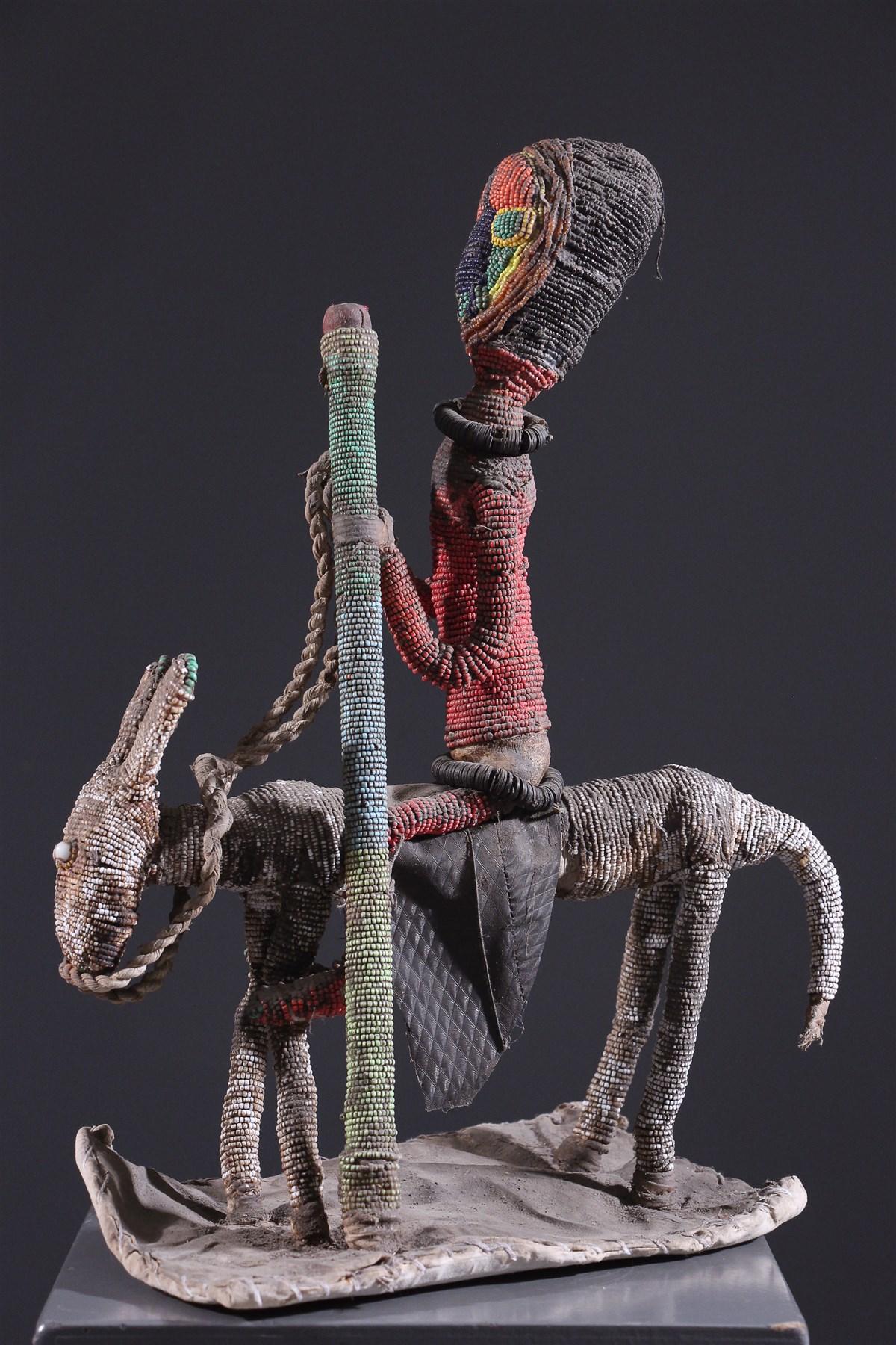 Fétiche Babalawo Yoruba - Art africain