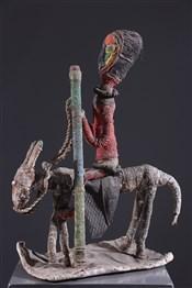 Art africain - Cavalier - Fétiche Babalawo Yoruba