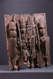 Grande plaque royale Benin Bini Edo