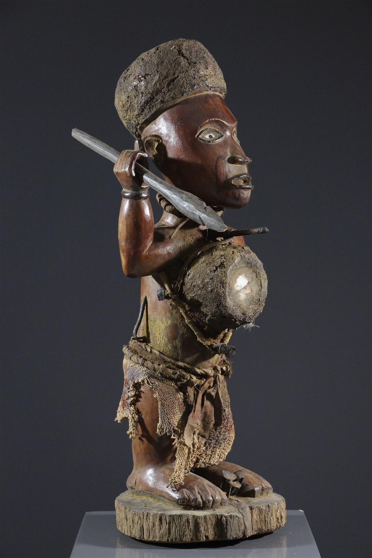 Fétiche Nkisi Kongo Yombe - art africain