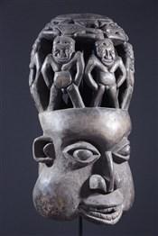 Masque de dignitaire Bamoun