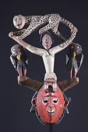 Masque Zaouli Gouro