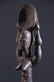 Objets usuelsCuillère anthropomorphe Baoulé
