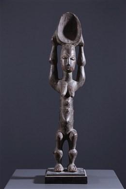 Cuillère anthropomorphe Baoulé
