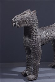 bronze africainLéopard Bénin Bini Edo