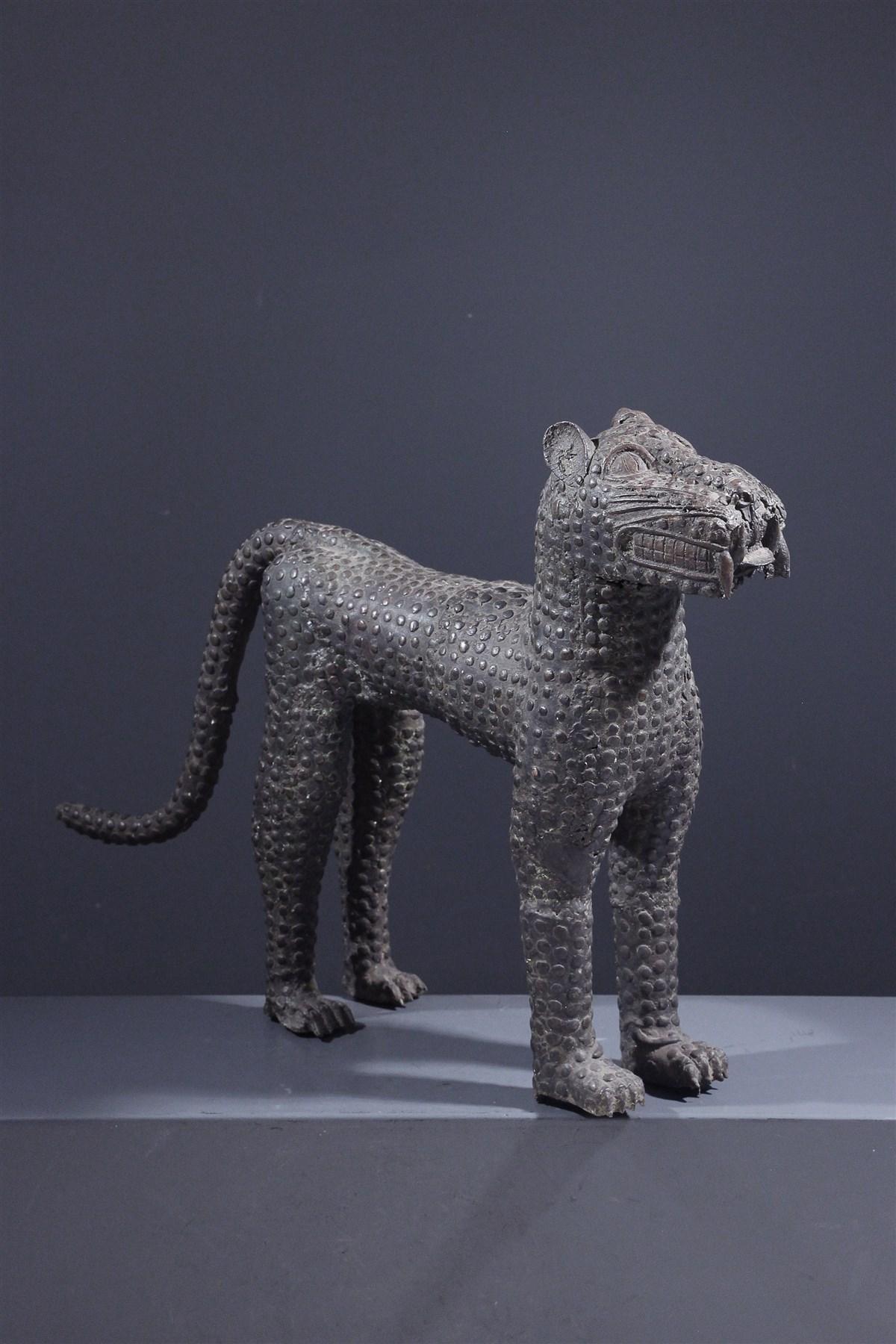 Léopard Bénin Bini Edo - Art africain