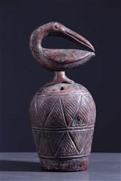 Objets usuelsCloche rituelle zoomorphe Kuba