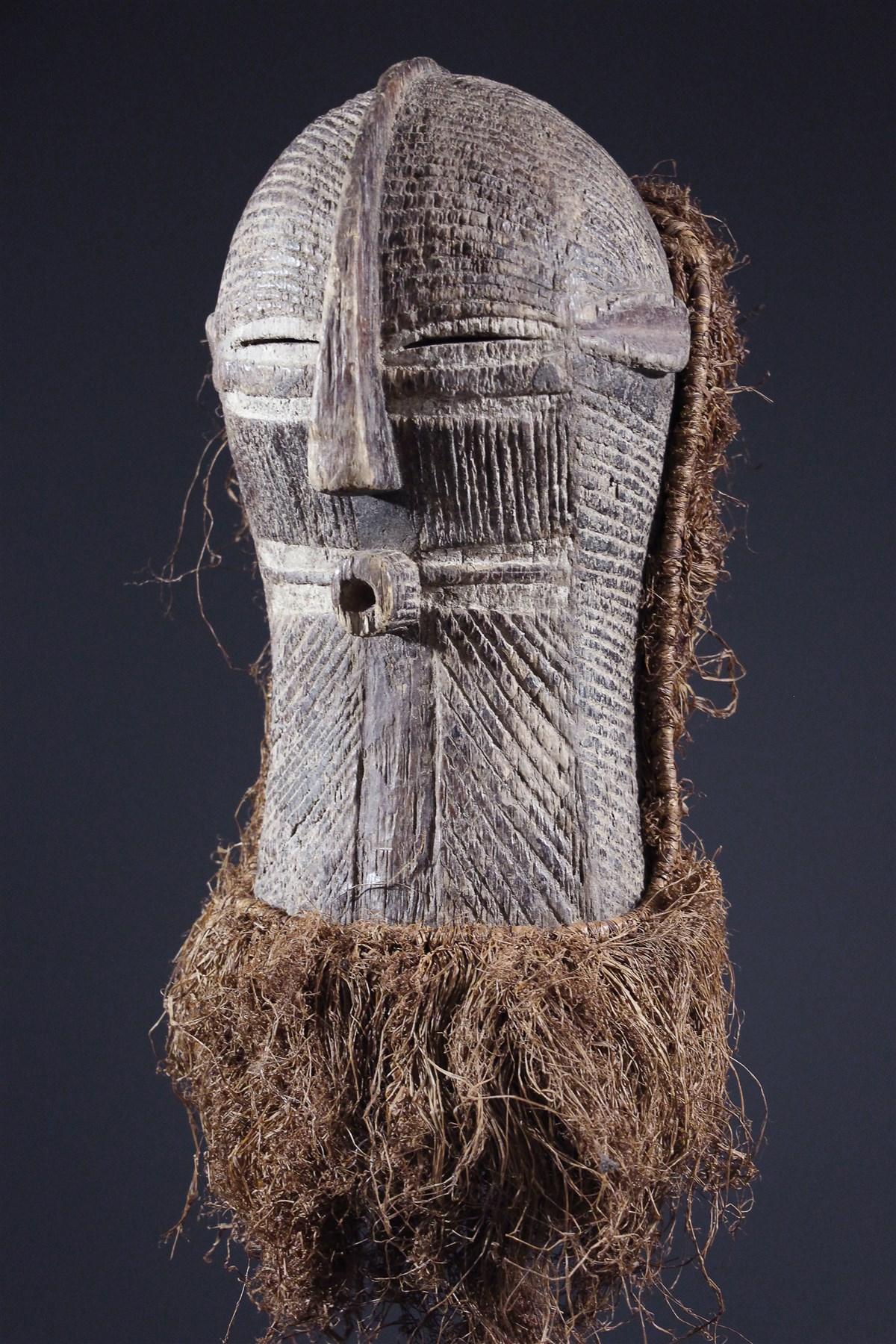 Masque Kifwebe Songye - art primitif