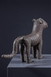 bronze africainLéopard en bronze Bénin