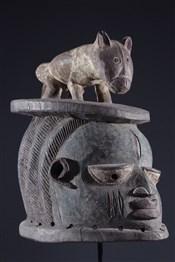 Masque africainMasque Gelede Yoruba