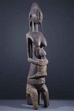 Reine Bambara et son enfant