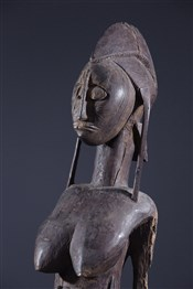 Statues africainesReine Bambara et son enfant