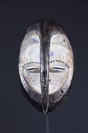 Masque africainMasque Kwele Pibibuze