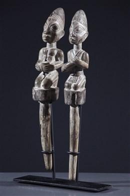 Art africain - Sceptres Shango