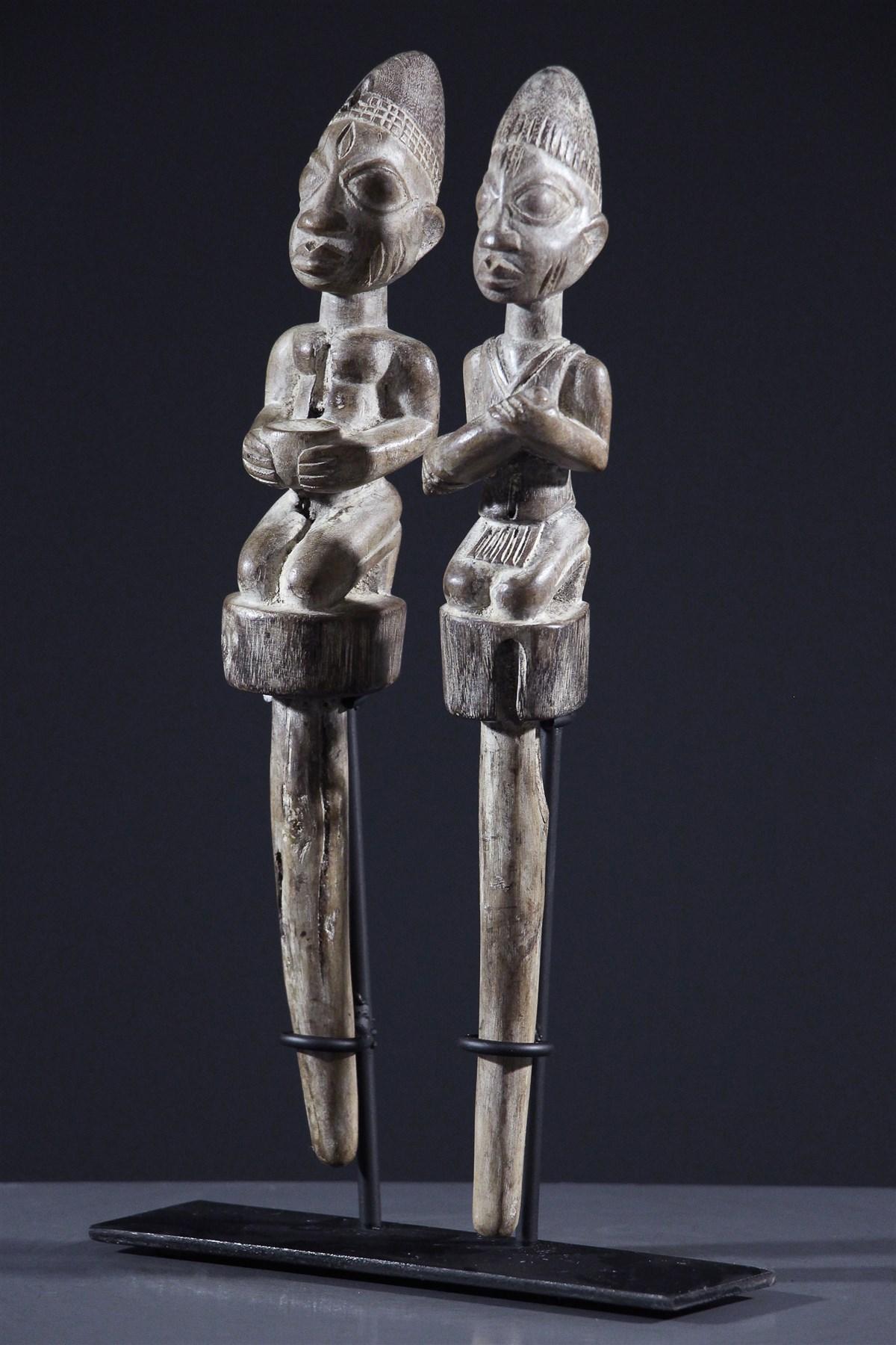 Sceptres Shango - Art africain