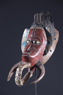 Art africain - Masque Baoule