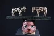 Masque africainMasque heaume Gelede
