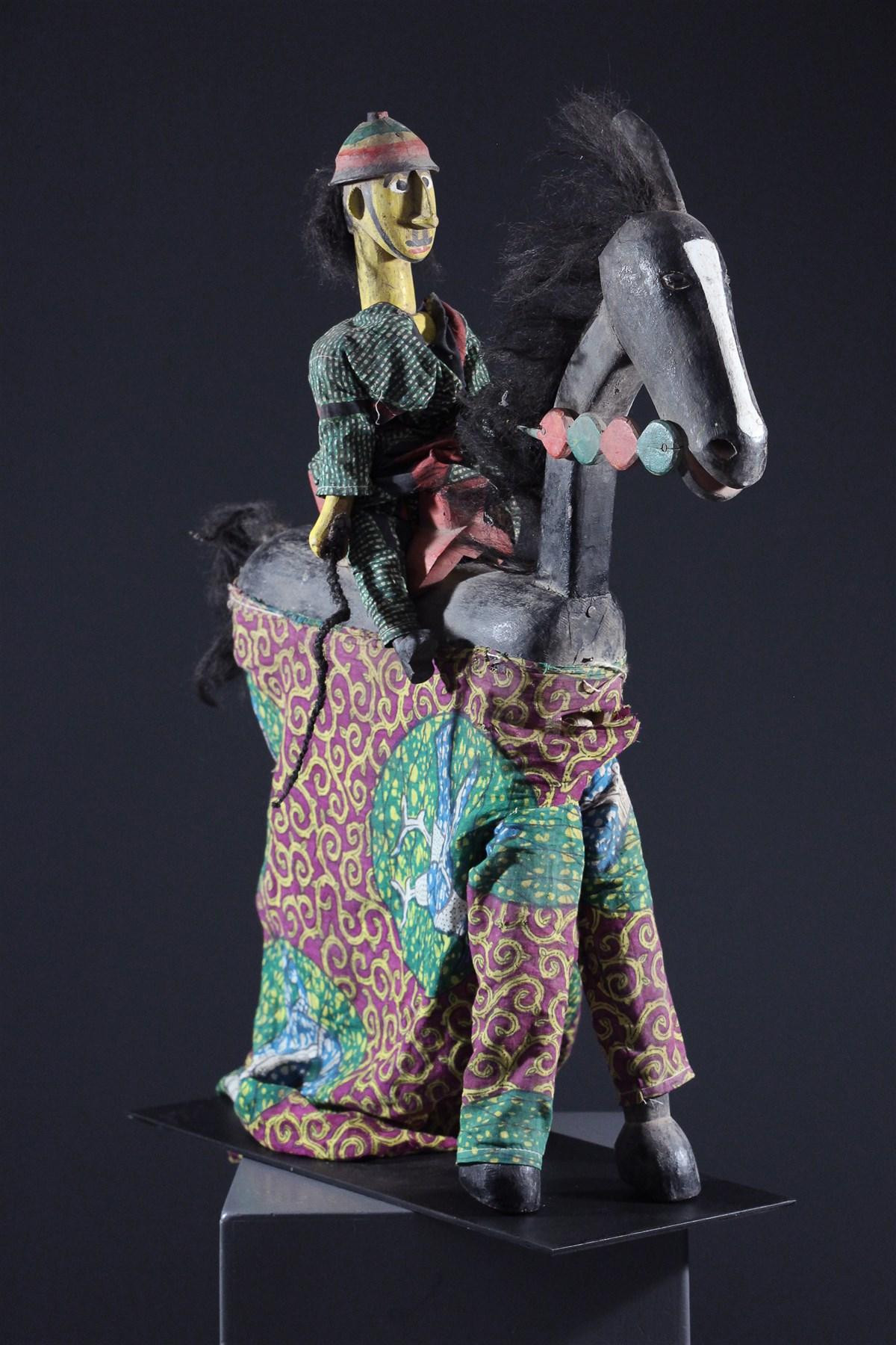 Marionnette Bozo - art primitif