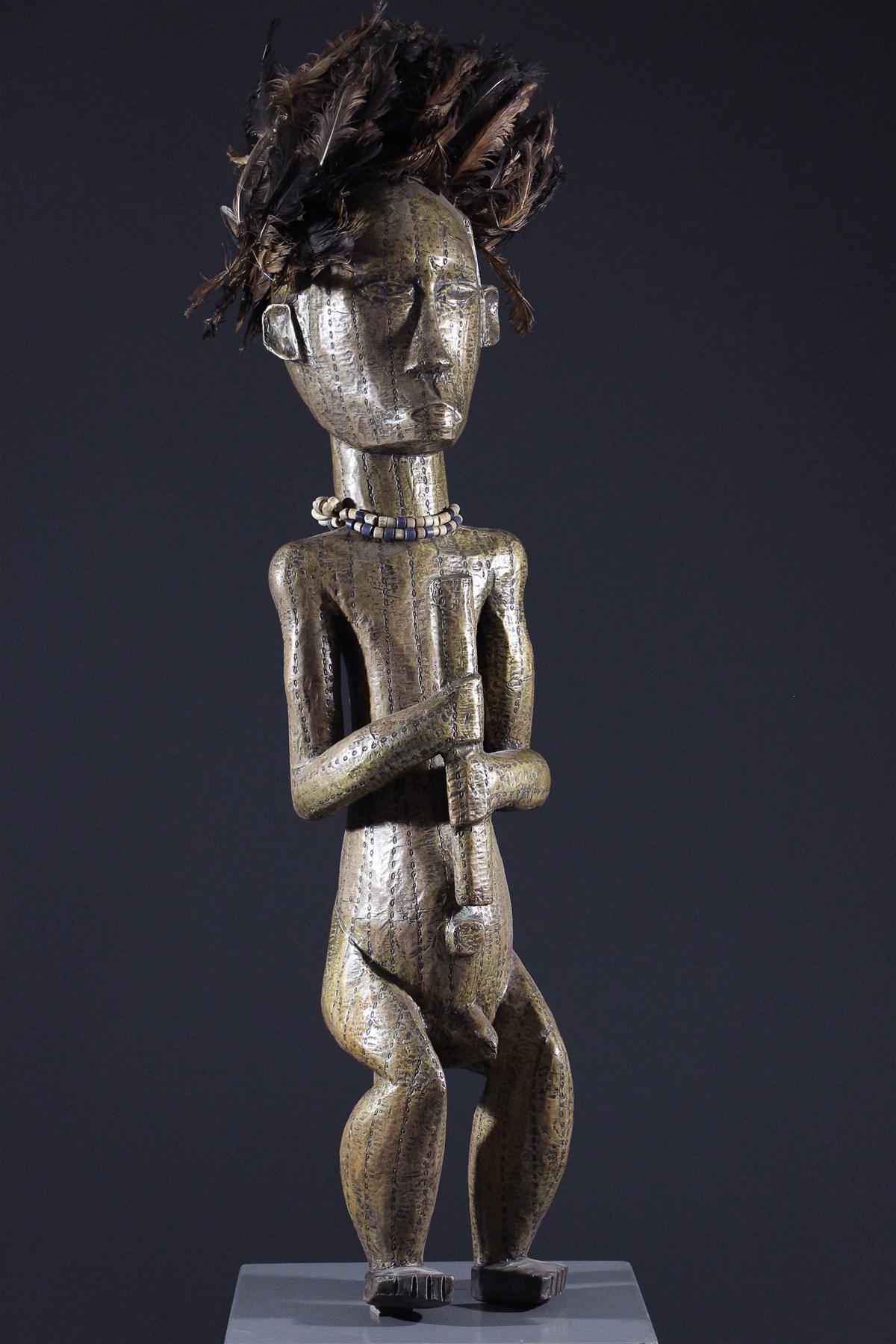 Effigie masculine du Byeri - art africain