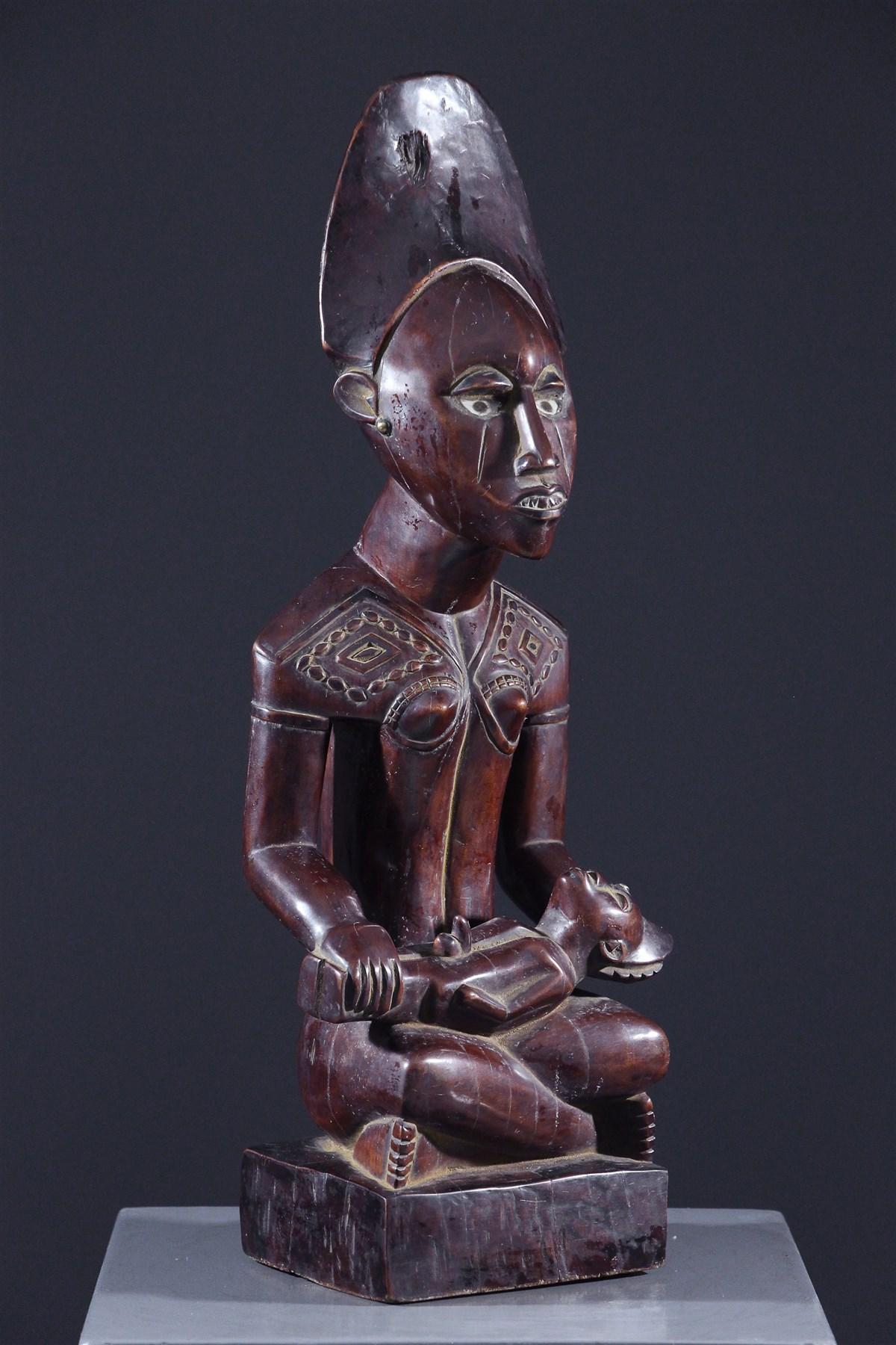 Maternité Kongo Yombe - art africain