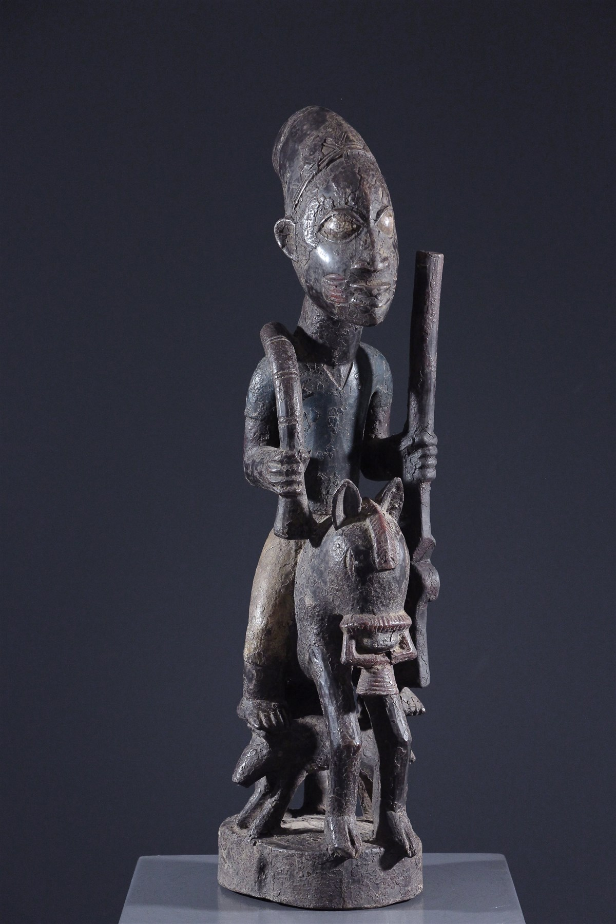 Cavalier Yoruba - art primitif
